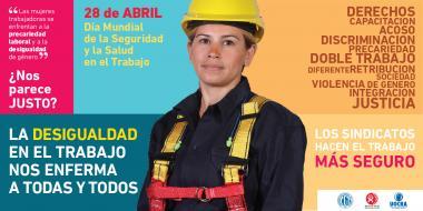 Foto noticia Internacional - DÍA MUNDIAL DE LA SEGURIDAD Y LA SALUD EN EL TRABAJO