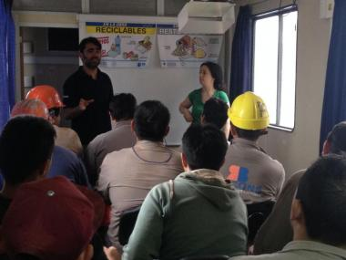 ENVIRONMENTAL TRAINING OF WORKERS FOR THE MANAGEMENT AND RECOVERY OF RECYCLED WASTE IN WORKS