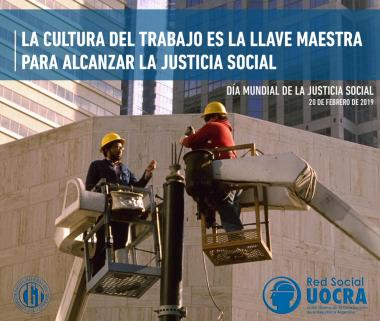 FEBRUARY 20TH - WORLD DAY OF SOCIAL JUSTICE