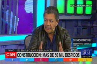 Interview to Gerardo Martinez in Marcelo Zlotogwiazda's program Challenge 20.16 on C5N Channel