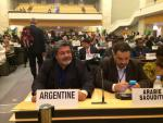 On behalf of the Workers Members Gerardo Martínez is re-elected as Regular Member of the ILO's Governing Body