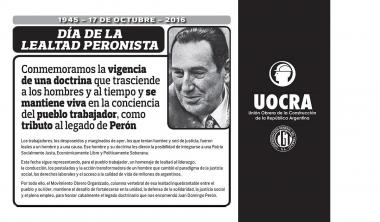 PERONIST LOYALTY DAY