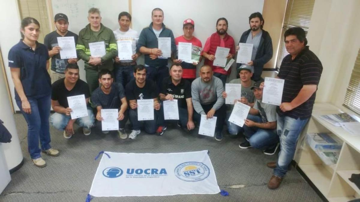 TRAINING AGREEMENT AMONGST SRT, CAMARCO AND UOCRA