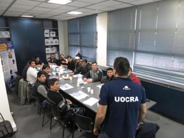 Training Agreement among the SRT, CAMARCO and UOCRA