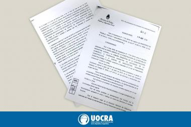 UOCRA COMPLETED AN ANNUAL SALARY INCREASE OF 39%