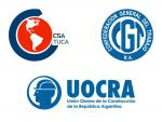UOCRA spoke on trade unionism and communication in TUCA's meeting